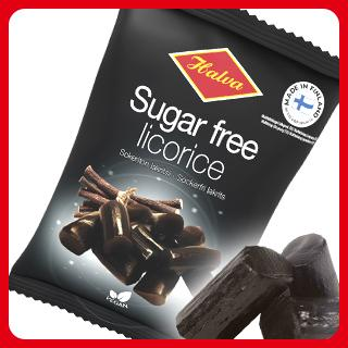 Sugar Free Licorice | Halva makeiset