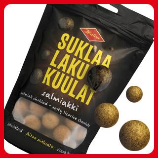 Suklaalakukuulat Salmiakki