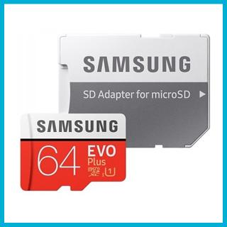 SAMSUNG EVO PLUS 64GB MICROSD | Muistikauppa.fi