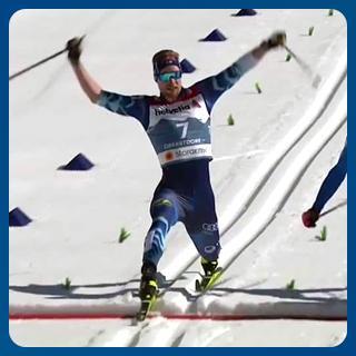 MM-sprintin loppukurotus (Oberstdof 2021)