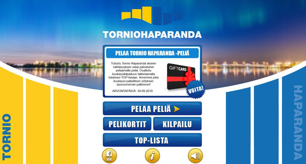 TornioHaparanda -muistipeli